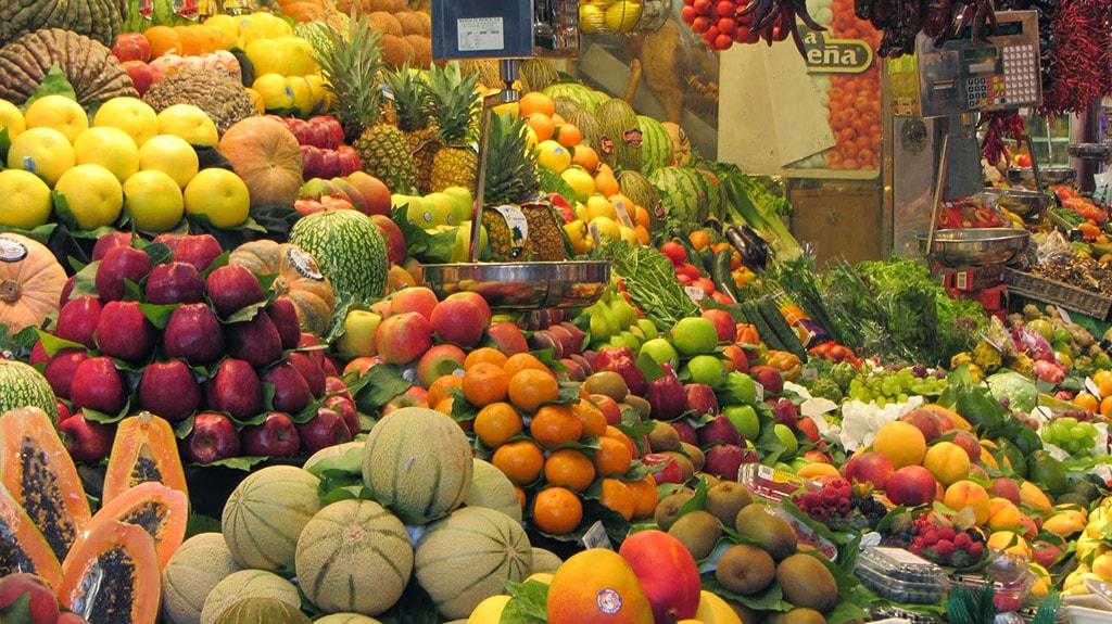 Visit a local market