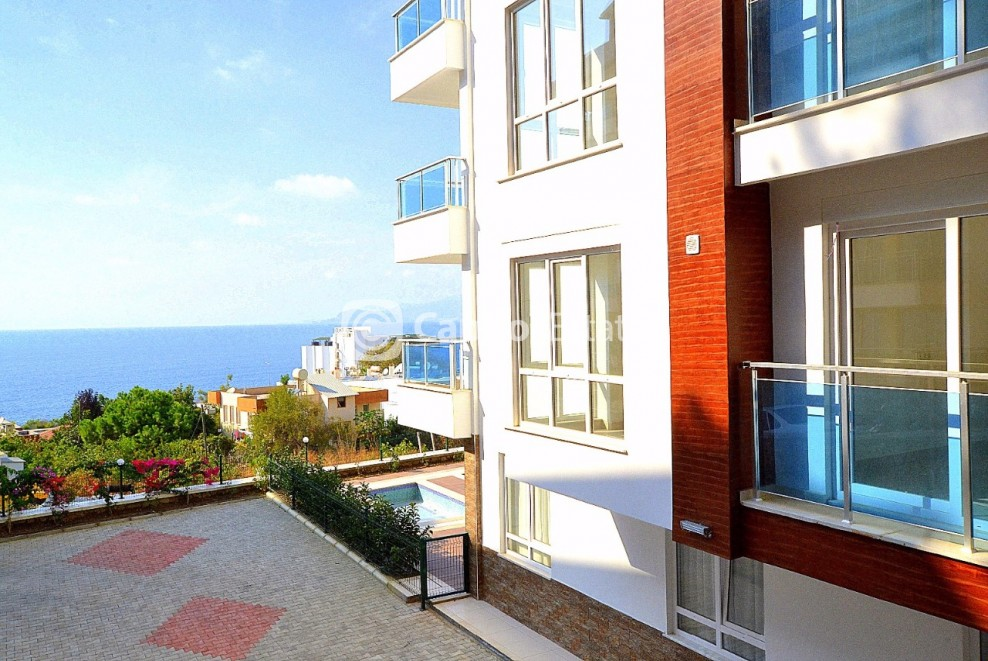 Affordable 1 Bedroom Apartment With Fantastic Views In Alanya