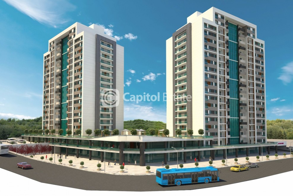 Ready to move in apartments with great facilities in Esenyurt